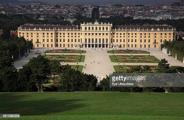 Austria Vienna Schonbrunn Palace and formal gardens