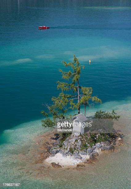 Austria, View of Wolfgangsee at St. Gilgen