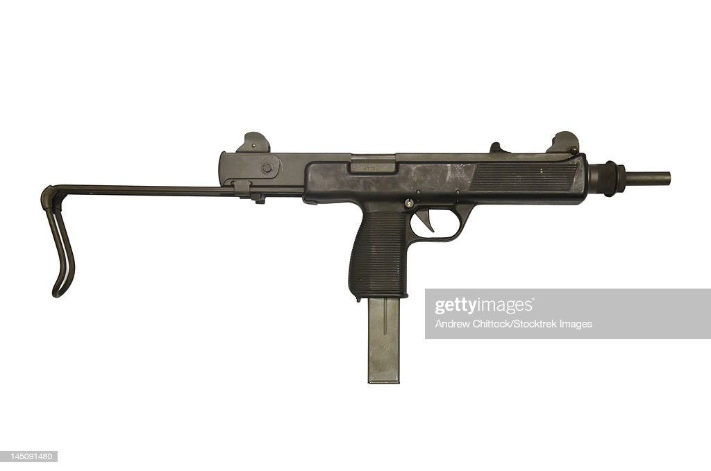 Austrian 9mm submachine gun.