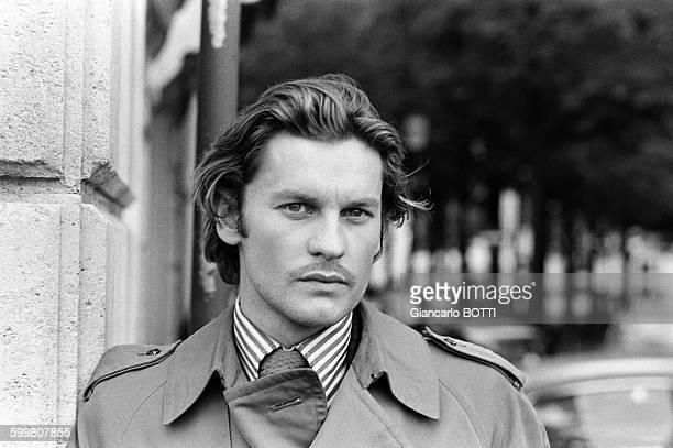 Austrian Actor Helmut Berger in Paris France in 1969