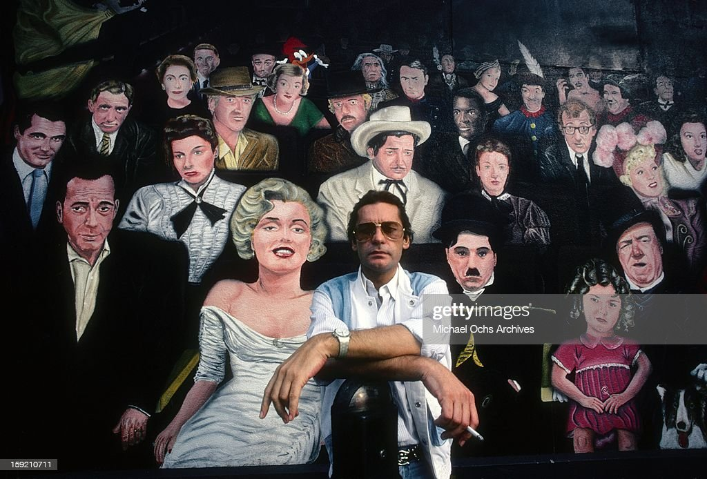 Austrian actor <a gi-track='captionPersonalityLinkClicked' href=/galleries/search?phrase=Helmut+Berger&family=editorial&specificpeople=1670005 ng-click='$event.stopPropagation()'>Helmut Berger</a> poses for a portrait in Hollywood in February, 1984 in Los Angeles, California.