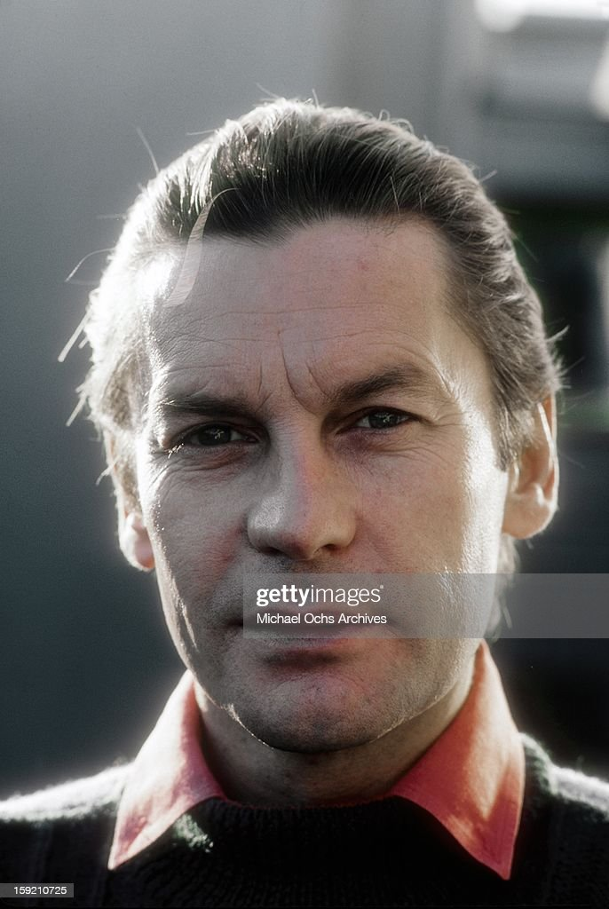 Austrian actor Helmut Berger poses for a portrait in Hollywood in November, 1983 in Los Angeles, California.