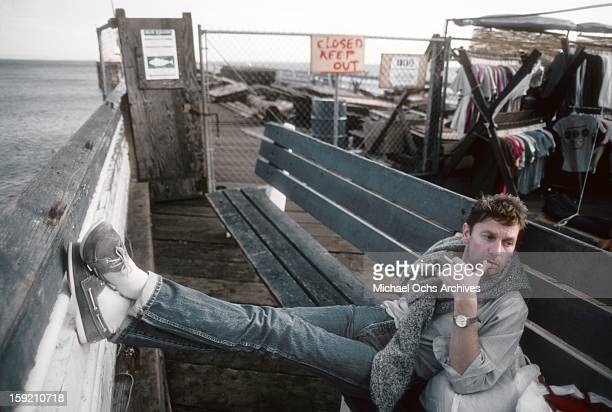 Austrian actor Helmut Berger poses for a portrait in March 1984 in Los Angeles California