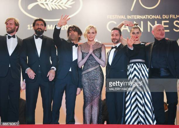 Austrian actor Johannes Krisch German actress Samia Chancrin German actor Denis Moschitto German actress Diane Kruger German director Fatih Akin...