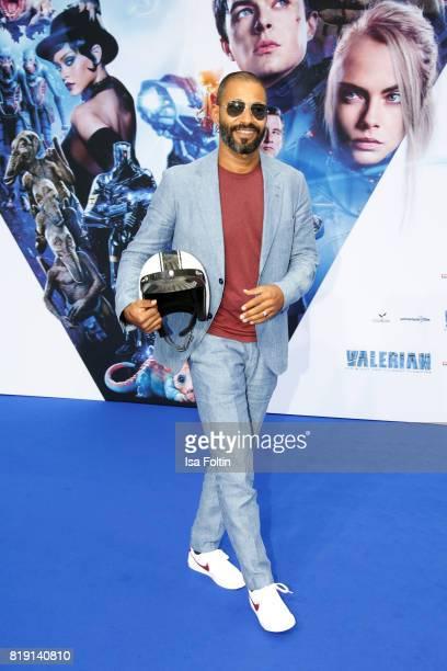 Austrian actor Tyron Ricketts during the 'Valerian Die Stadt der Tausend Planeten' premiere at CineStar on July 19 2017 in Berlin Germany