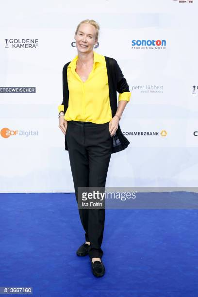 Austrian actress and director Feo Aladag attends the summer party 2017 of the German Producers Alliance on July 12 2017 in Berlin Germany