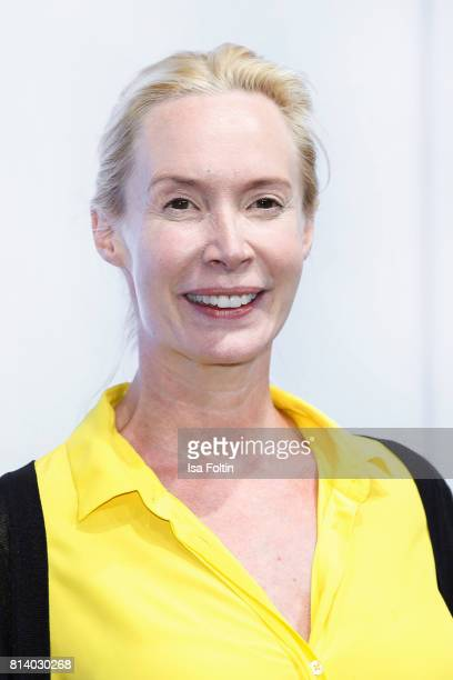 Austrian actress Feo Aladag attends the summer party 2017 of the German Producers Alliance on July 12 2017 in Berlin Germany