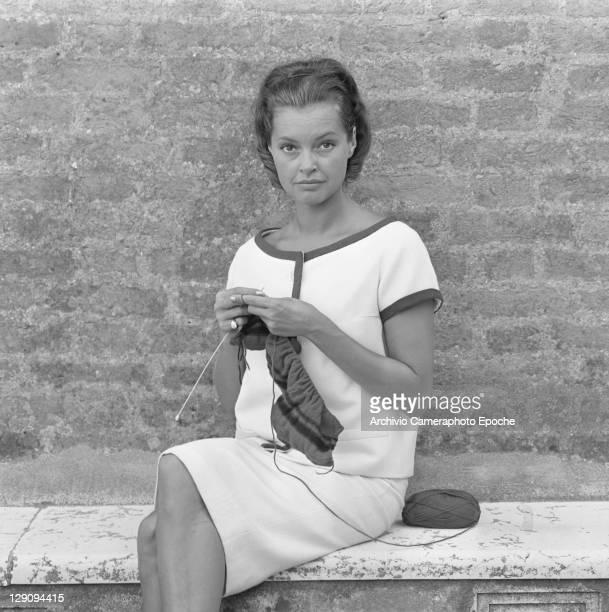 Austrian actress Nadja Tiller Venice 1960s