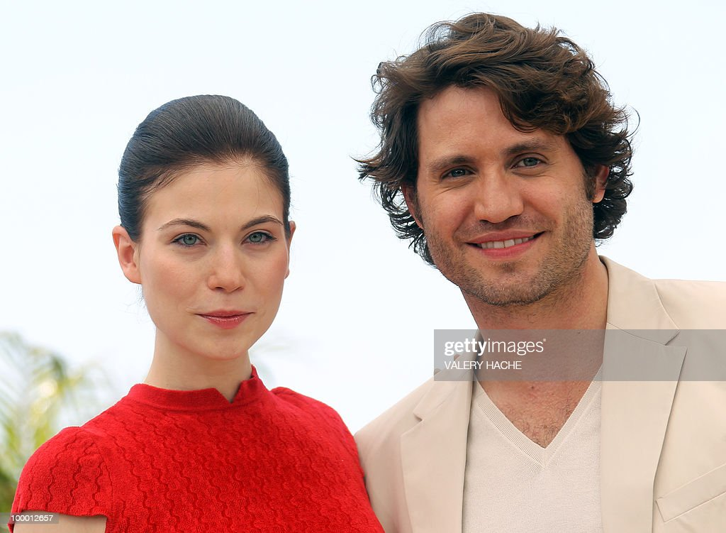 Austrian actress Nora Von Waldstatten and Venezuelian born actor Edgar Ramirez pose during the photocall of 'Carlos' presented out of competition at the 63rd Cannes Film Festival on May 20, 2010 in Cannes.