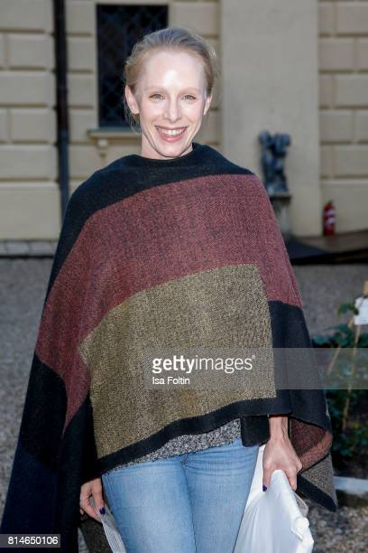 Austrian actress Susanne Wuest attends the Thurn Taxis Castle Festival 2017 'Aida' Opera Premiere on July 14 2017 in Regensburg Germany