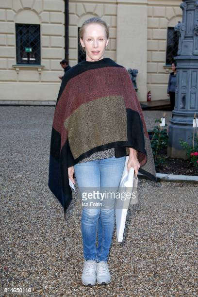 Austrian actress Susanne Wuest attends the Thurn Taxis Castle Festival 2017 'Aida' Opera Premiere on July 14 2017 in Regensburg Germany