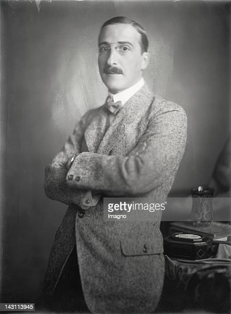 Austrian author Stefan Zweig Photograph 1920