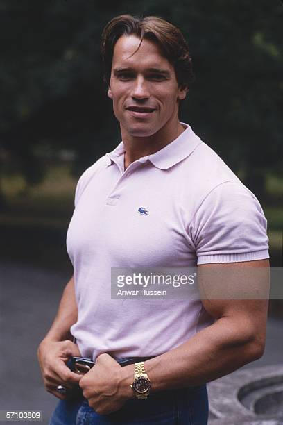Austrian born American actor and bodybuilder Arnold Schwarzenegger circa 1980