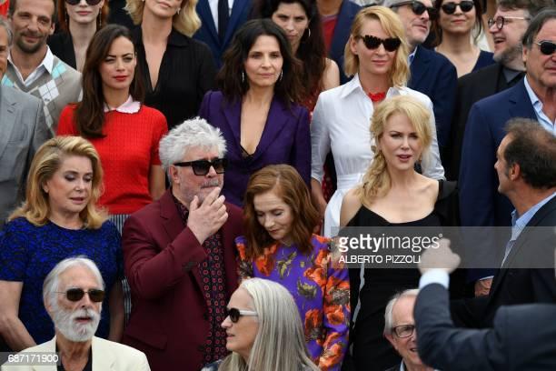 Austrian director Michael Haneke New Zealander director Jane Campion and British director Ken Loach French actress Catherine Deneuve Spanish director...