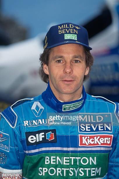 Austrian Formula One driver Gerhard Berger