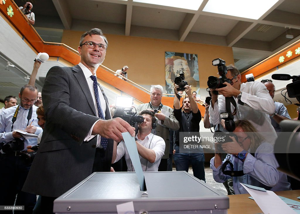 Austria Holds Runoff In Presidential Election | Getty Images