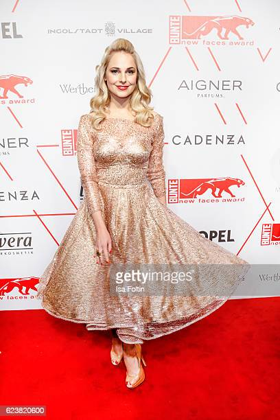 Austrian moderator Silvia Schneider attends New Faces Award Style on November 16 2016 in Berlin Germany