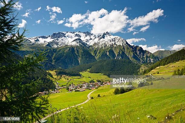 Paesaggio di montagna austriaco