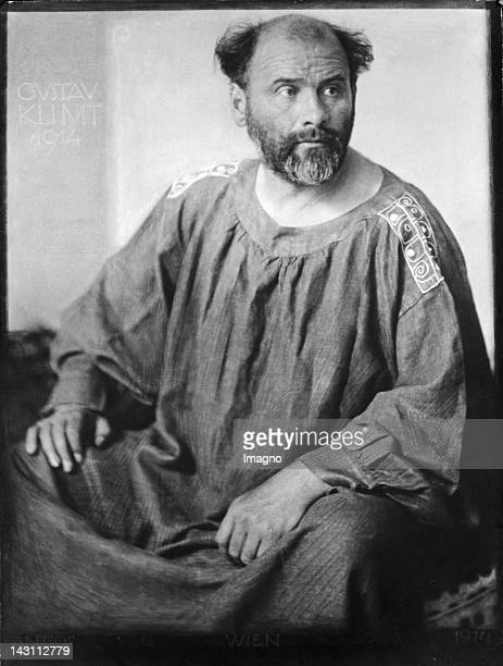 Austrian painter Gustav Klimt Photograph 1914