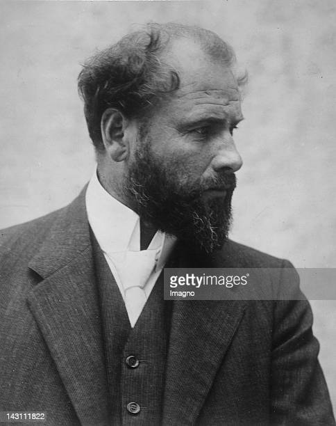 Austrian painter Gustav Klimt Photograph About 1910