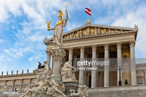 Austrian Parliament Building, Wien