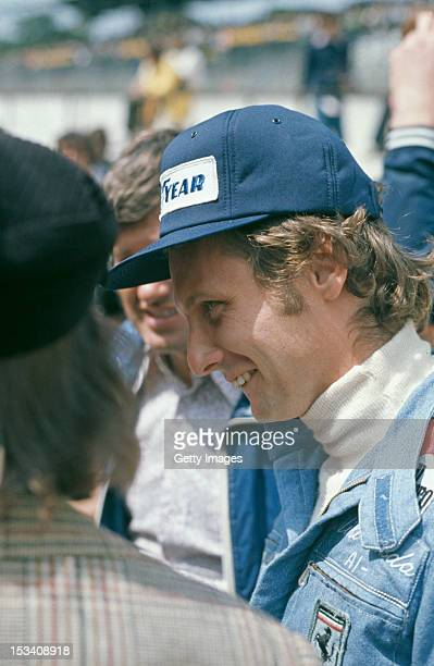Austrian racing driver Niki Lauda during the British Grand Prix at Brands Hatch 20th July 1974