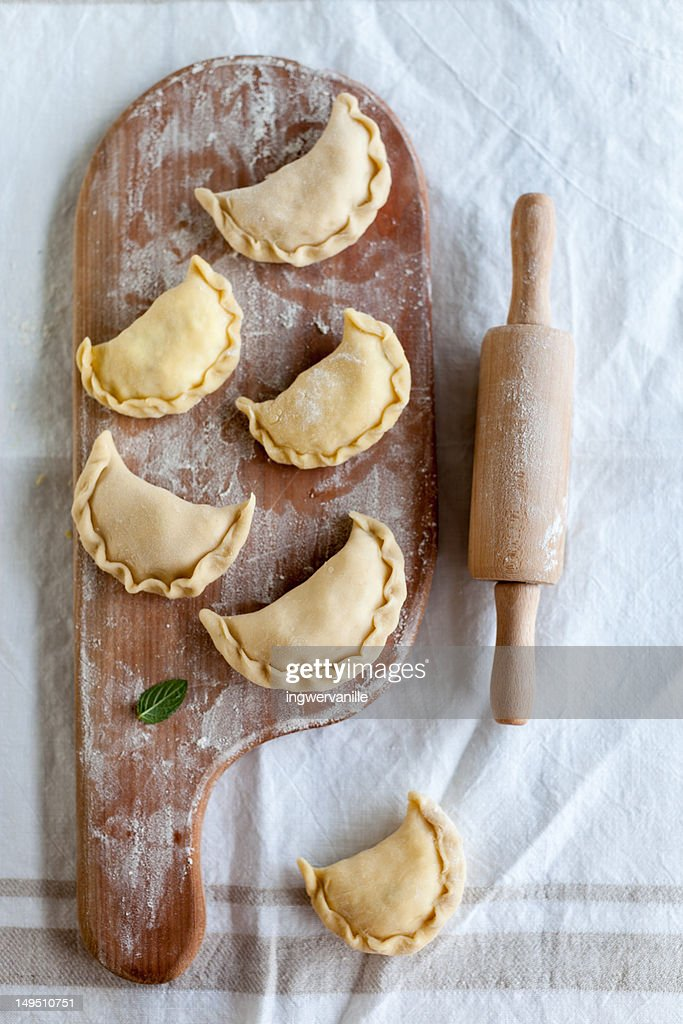 Austrian ravioli : Stock Photo