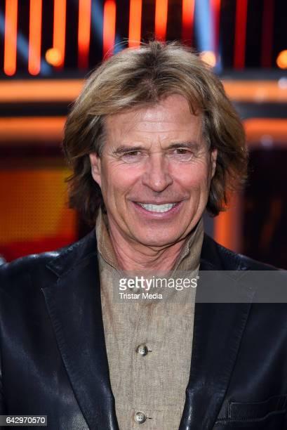 Austrian singer and former austrian skier Hansi Hinterseer attends the TV Show 'Klein Gegen Gross' at Studio Adlershof on February 19 2017 in Berlin...