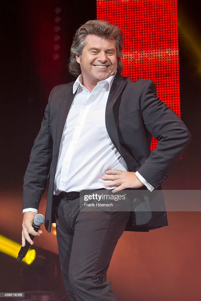 Austrian singer Andy Borg performs live during the 'Schlagernacht des Jahres' at the O2 World on November 22 2014 in Berlin Germany