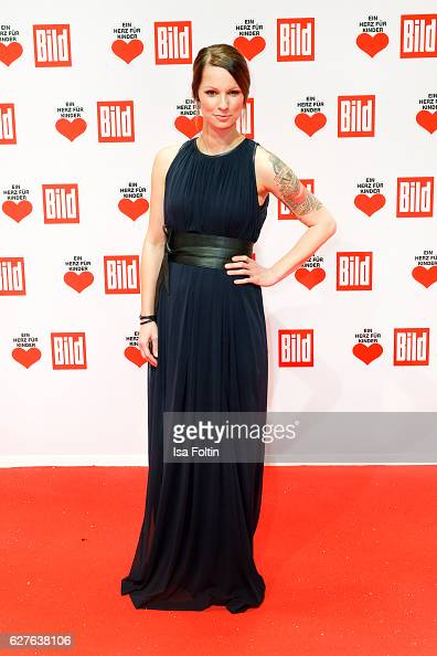Austrian singer Christina Stuermer attends the Ein Herz Fuer Kinder gala on December 3 2016 in Berlin Germany
