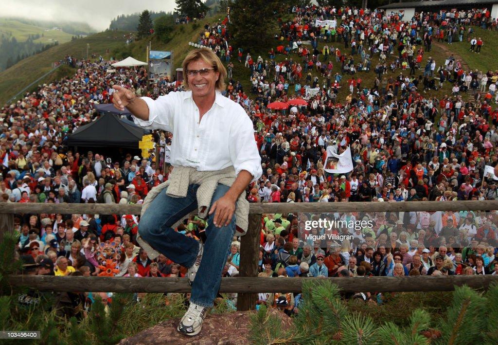 Hansi Hinterseer Gives Annual Fan Concert In Kitzbuehel