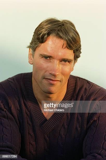 Austrianborn American actor and bodybuilder Arnold Schwarzenegger