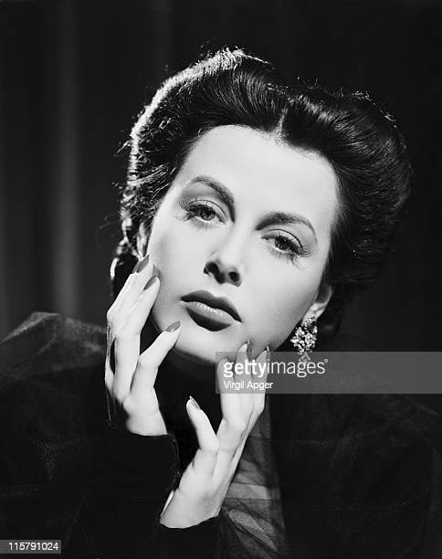 Austrianborn American actress Hedy Lamarr 8th April 1942