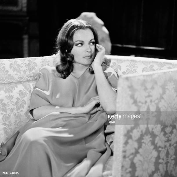Austrianborn film actress Romy Schneider on the set of 'My Lover My Son' 24th May 1969