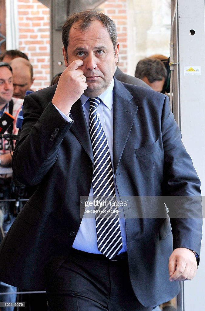 Austria's vice Chancellor Jisef Proll arrives for a statutory Summit of the European People's Party (EPP), on June 16, 2010 in Meise, near Brussels, on the eve of an European Council gathering EU's heads of state. During the one-day meeting, EU leaders are expected to adopt 'Europe 2020', the new strategy for jobs and growth, and will also discuss the forthcoming G 20 summit, economic governance and post-Copenhagen climate strategy.
