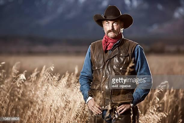 Authentic Cowboy Rancher Portrait