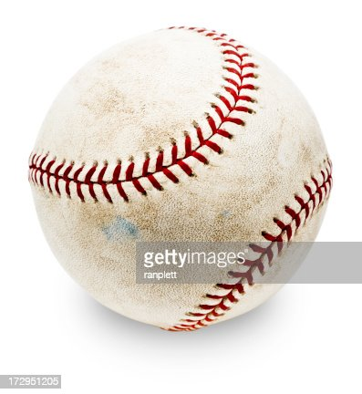 Authentic MLB Baseball (with Clipping Path)