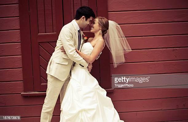 authentic wedding portraits