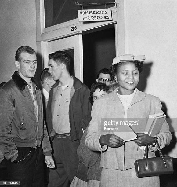 Autherine Lucy becomes the first African American student to enroll in the University of Alabama at Tuscaloosa in 136 years