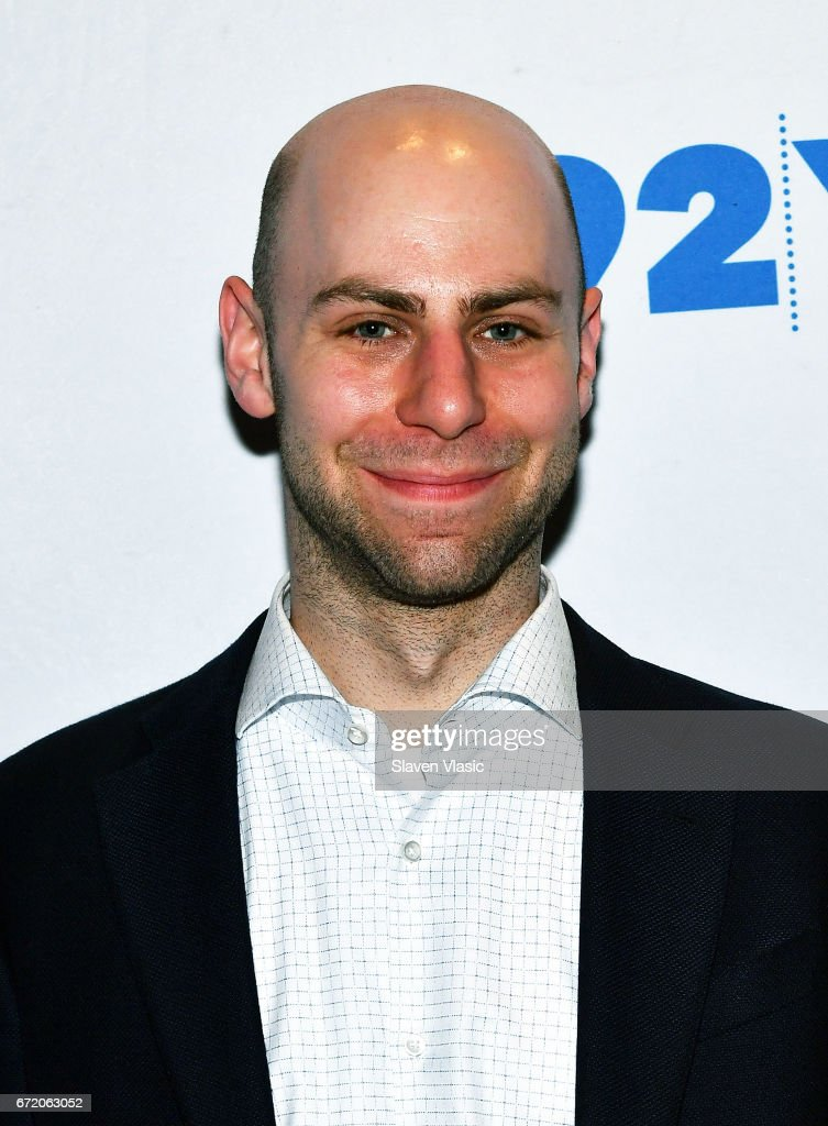 Author Adam Grant attends 92Y's event 'Sheryl Sandberg And Adam Grant In Conversation With Katie Couric' at 92nd Street Y on April 23, 2017 in New York City.