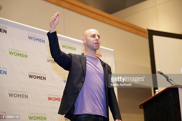 Author Adam Grant speaks during Breakout Sessions at the Pennsylvania Conference for Women 2016 at Pennsylvania Convention Center on October 6 2016...