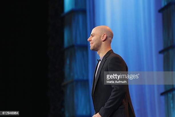Author Adam Grant speaks onstage during the Pennsylvania Conference for Women 2016 at Pennsylvania Convention Center on October 6 2016 in...