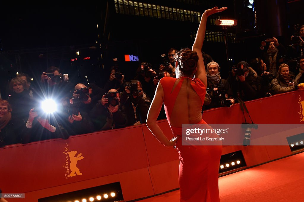 Author Alexandra Anthony attends the 'Midnight Special' premiere during the 66th Berlinale International Film Festival Berlin at Berlinale Palace on February 12, 2016 in Berlin, Germany.
