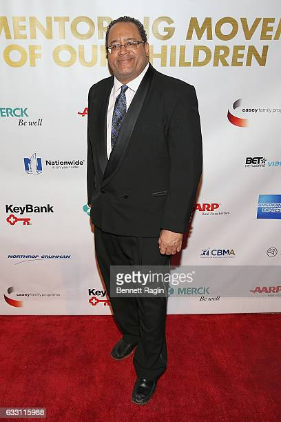 Author and academic Michael Eric Dyson attends the National CARES Mentoring Movement's 2nd Annual 'For the Love of Our Children' Gala at Cipriani...