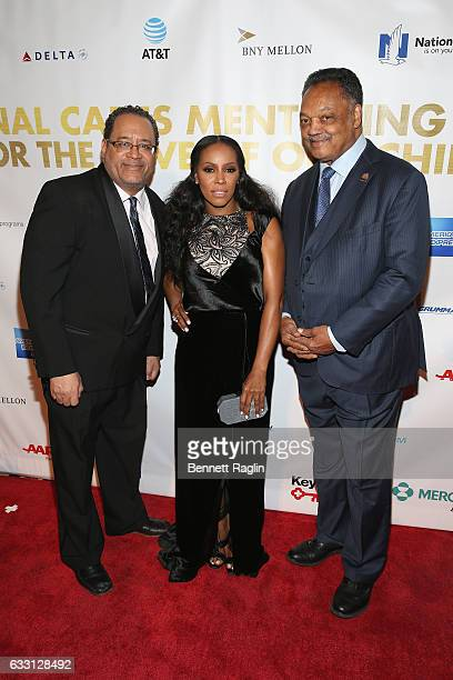 Author and academic Michael Eric Dyson Stylist June Ambrose and Jesse Jackson attend the National CARES Mentoring Movement's 2nd Annual 'For the Love...