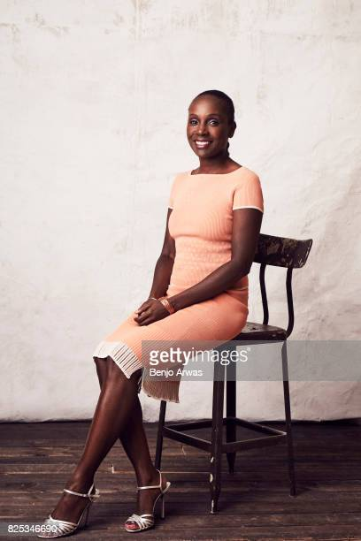 Author and activist Aisha KarefaSmart of PBS's 'I Am Not Your Negro' poses for a portrait during the 2017 Summer Television Critics Association Press...