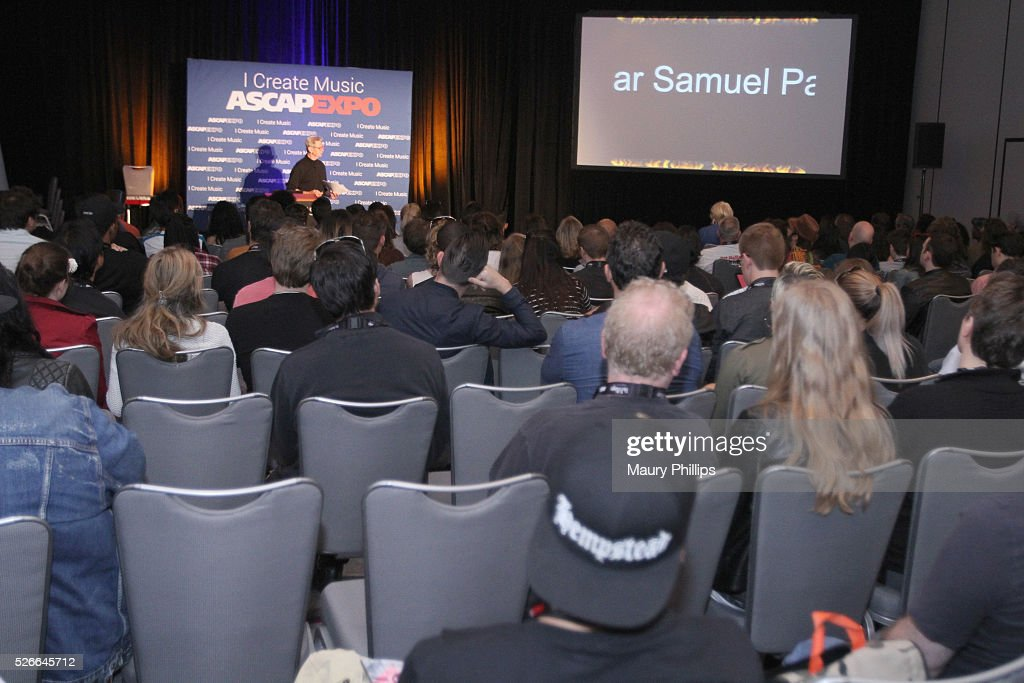 Author and ASCAP songwriter Ralph Murphy speaks onstage during the 2016 ASCAP 'I Create Music' EXPO on April 30, 2016 in Los Angeles, California.