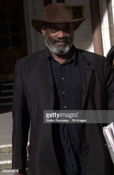 Author and broadcaster Darcus Howe outside the High Court in London where Neil Hamilton has won a stay on paying 500000 towards the 2 million bill...
