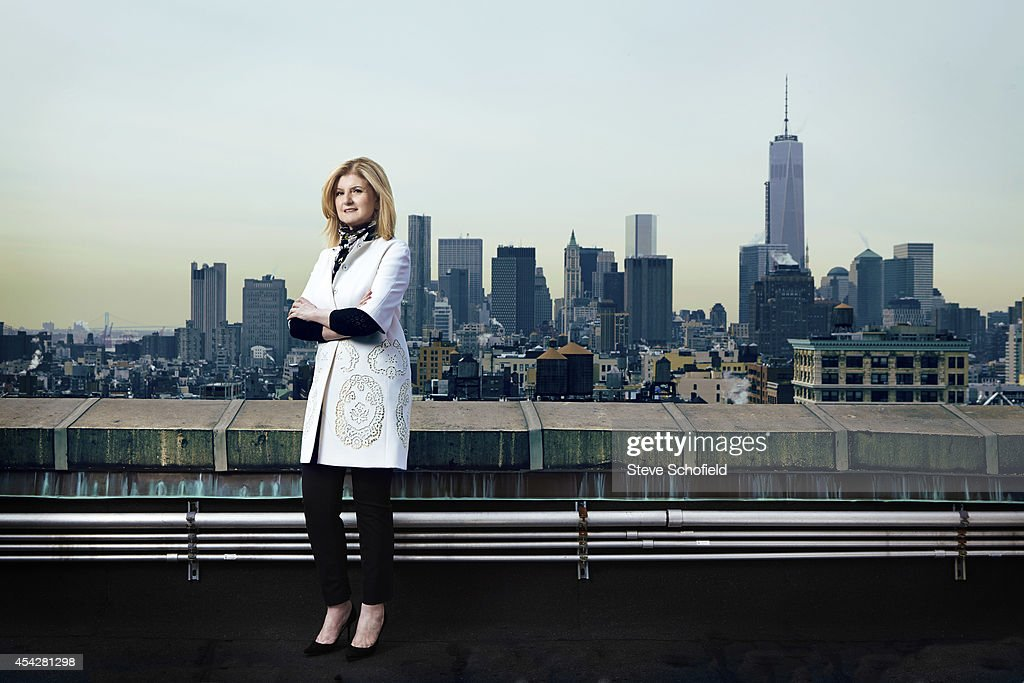 Author and columnist <a gi-track='captionPersonalityLinkClicked' href=/galleries/search?phrase=Arianna+Huffington&family=editorial&specificpeople=204730 ng-click='$event.stopPropagation()'>Arianna Huffington</a> is photographed for The Times on March 4, 2014 in New York City.