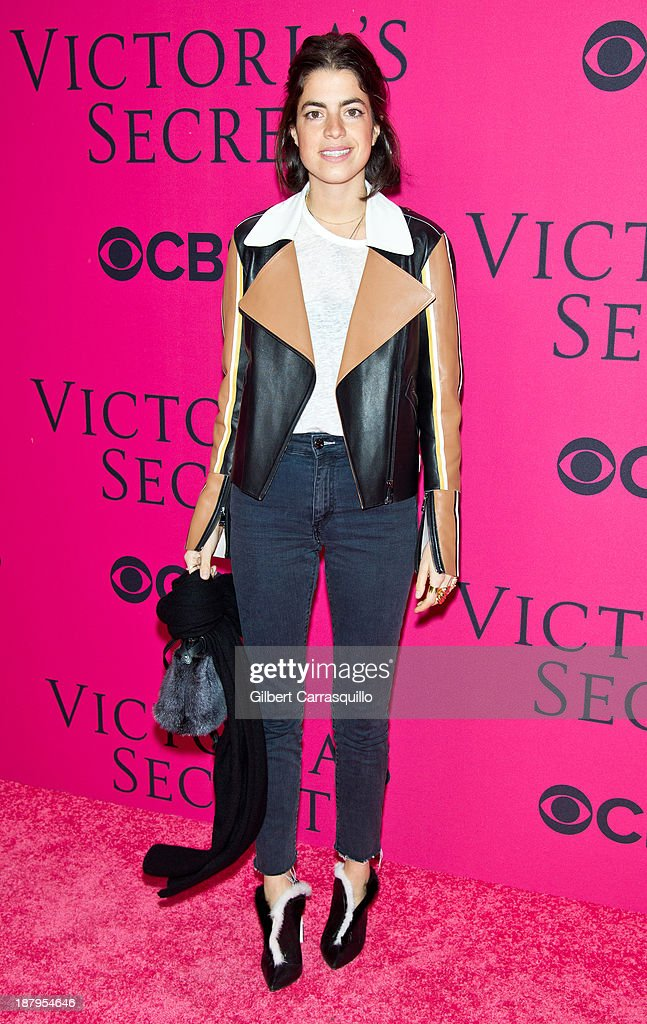 Author and fashion blogger <a gi-track='captionPersonalityLinkClicked' href=/galleries/search?phrase=Leandra+Medine&family=editorial&specificpeople=7491795 ng-click='$event.stopPropagation()'>Leandra Medine</a> attends the 2013 Victoria's Secret Fashion Show at Lexington Avenue Armory on November 13, 2013 in New York City.
